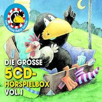 Kleiner Rabe Socke, Die große 5-CD Hörspielbox Vol. 1, 00602547881359