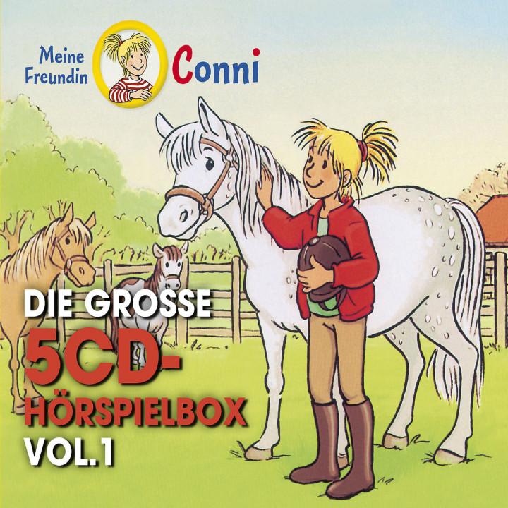 Die große 5-CD Hörspielbox Vol. 1