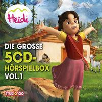 Heidi, Die große 5-CD Hörspielbox Vol. 1 (CGI), 00602547893871
