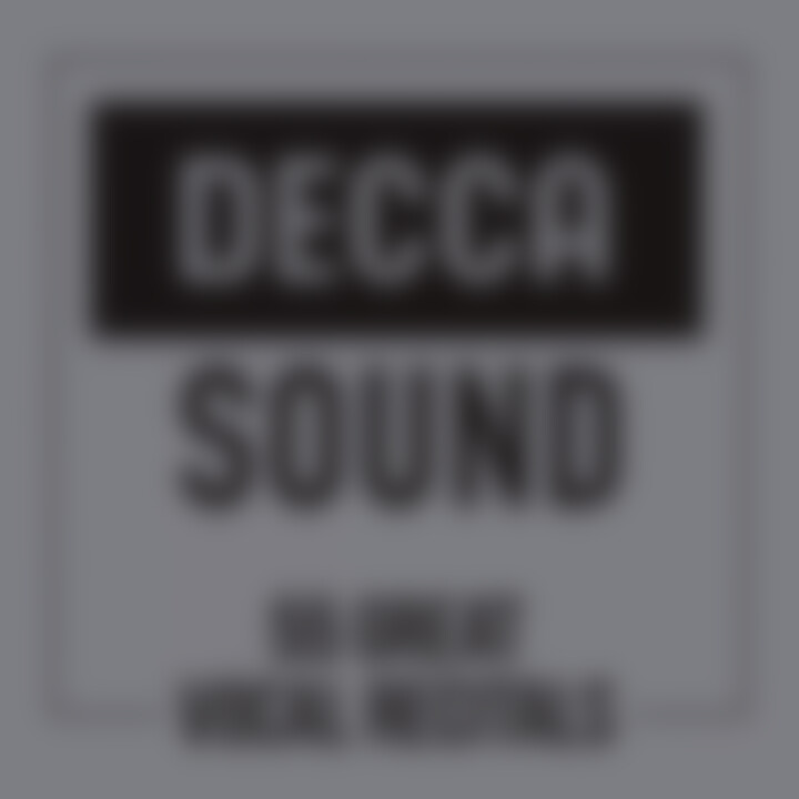 Decca Sound: 55 Great Vocal Recitals