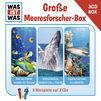 3-CD Hörspiel- und Liederboxen, Was Ist Was 3-CD Hörspielbox Vol. 5 – Die große Meeresforscher-Box