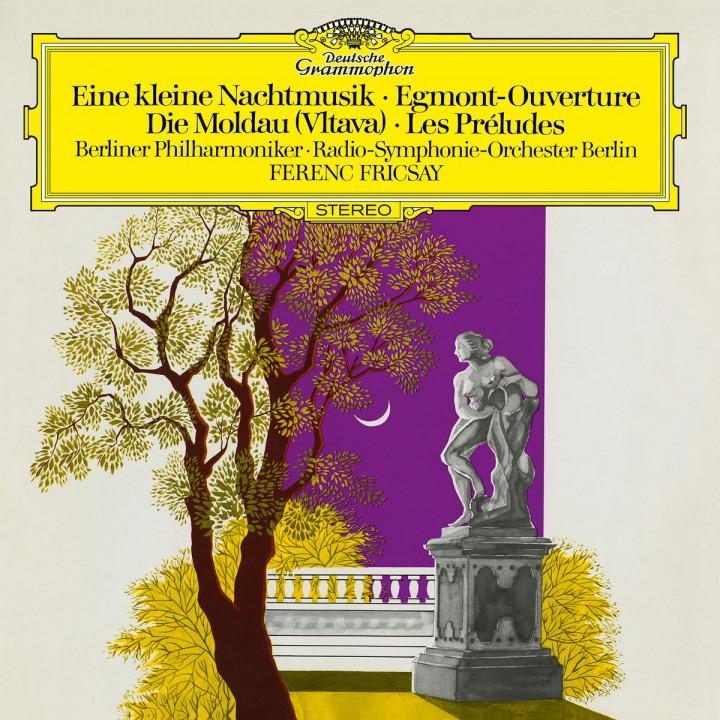 Mozart: Eine kleine Nachtmusik / Beethoven: Egmont / Smetana: The Moldau / Liszt: Les Préludes