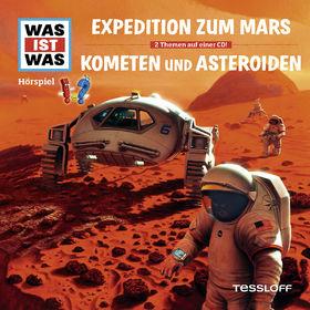 Was ist Was, 58: Expedition zum Mars / Kometen und Asteroiden, 09783788643362