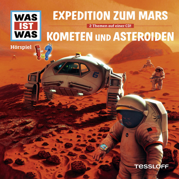Folge 58: Expedition z. Mars/ Kometen & Asteroiden