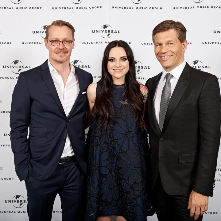Dirk Baur, Amy MacDonald, Frank Briegmann