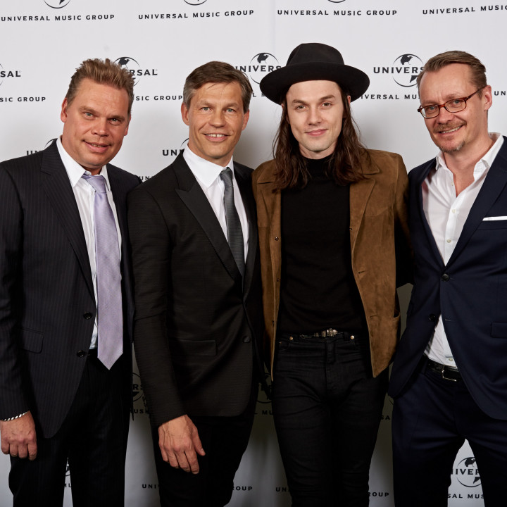 Tom Bohne, Frank Briegmann, James Bay, Dirk Baur