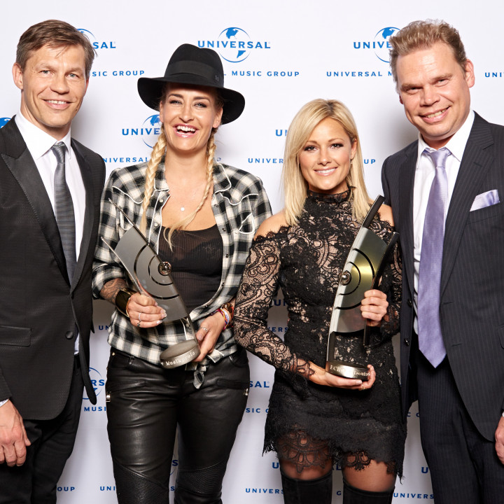 Frank Briegmann, Sarah Connor, Helene Fischer, Tom Bohne