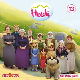 Heidi, Heidi - 13: Das größte Glück u.a. (CGI), 00600753661222