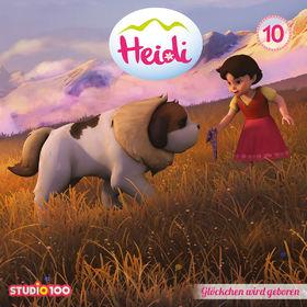 Heidi, Heidi - 10: Glöckchen wird geboren u.a. (CGI), 00600753661109