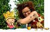 © Cordula Giese & Hedwig Munck // Der kleine König mit seiner Schöpferin Hedwig Munck!