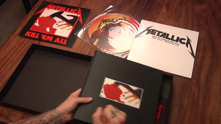 Kill 'Em All -Unboxing Video