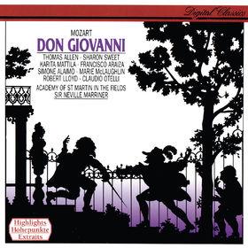 Sir Neville Marriner, Mozart: Don Giovanni (Highlights), 00028948304097
