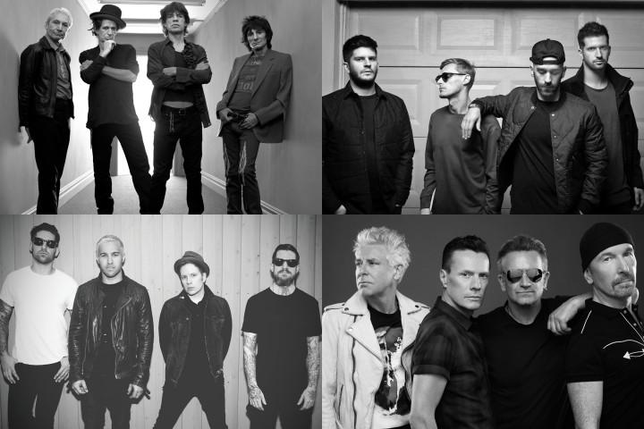 The Rolling Stones U2 Fall Out Boy X Ambassadors