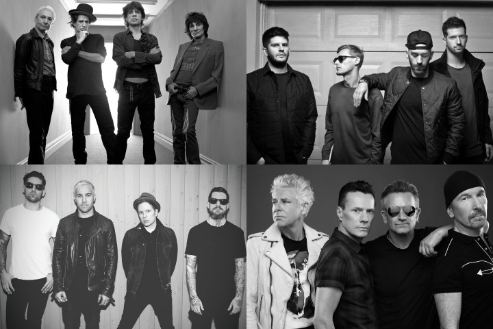 The Rolling Stones U2 Fall Out Boy X Ambassadors