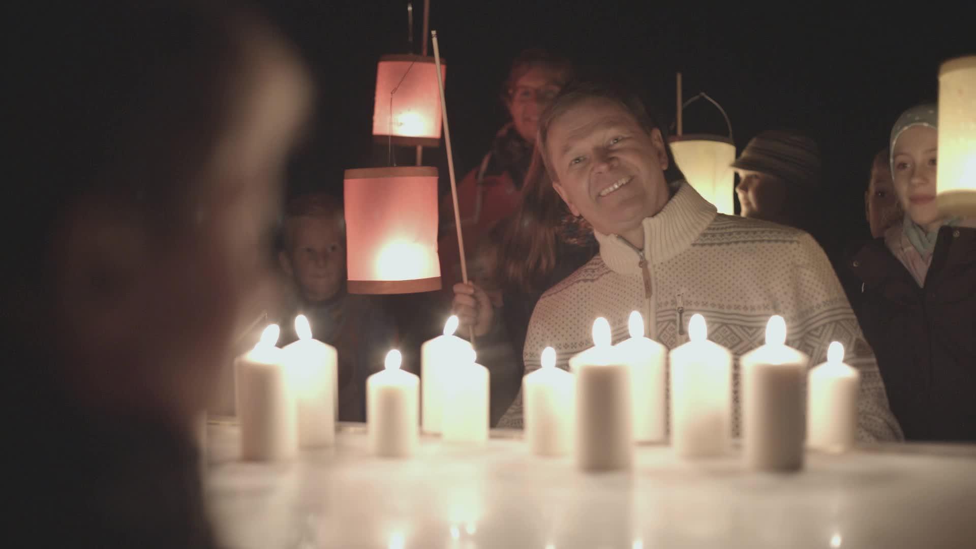 Ein Lichtermeer – Kleine Lichter werden immer mehr