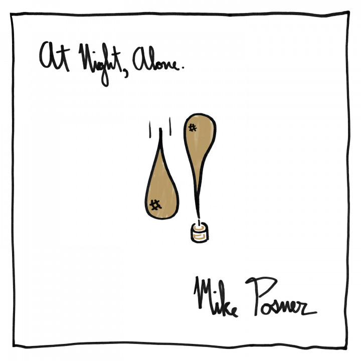 Mike Posner At Night Alone Cover