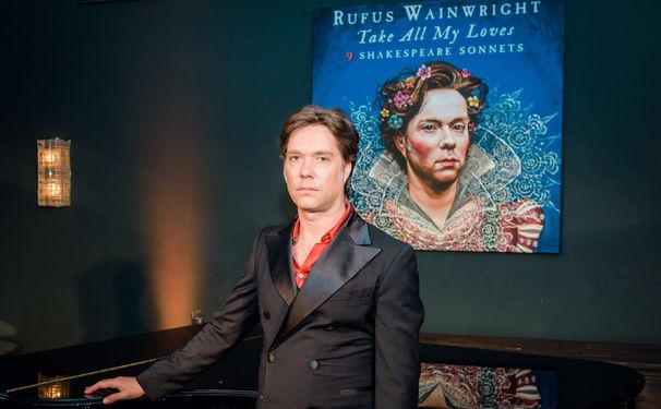 Rufus Wainwright, Herzensangelegenheit: Rufus Wainwright stellt sein neues Album im Berliner Soho House vor
