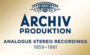 Box-Sets und Editionen, Glanzjahre der Archiv Produktion – Limitierte Edition mit Aufnahmeklassikern ...