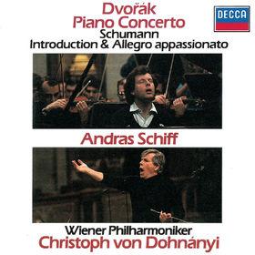 András Schiff, Dvorák: Piano Concerto / Schumann: Introduction & Allegro Appassionato, 00028947878254