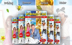 Reinhard Horn, Reinhard Horns schönsten Jahreszeitenlieder auf DVD:  Meine Jahreszeiten-Hits – jetzt gewinnen