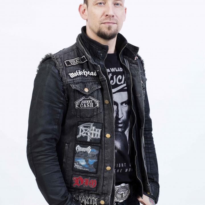 Volbeat Pressefotos 2016—Michael Poulsen