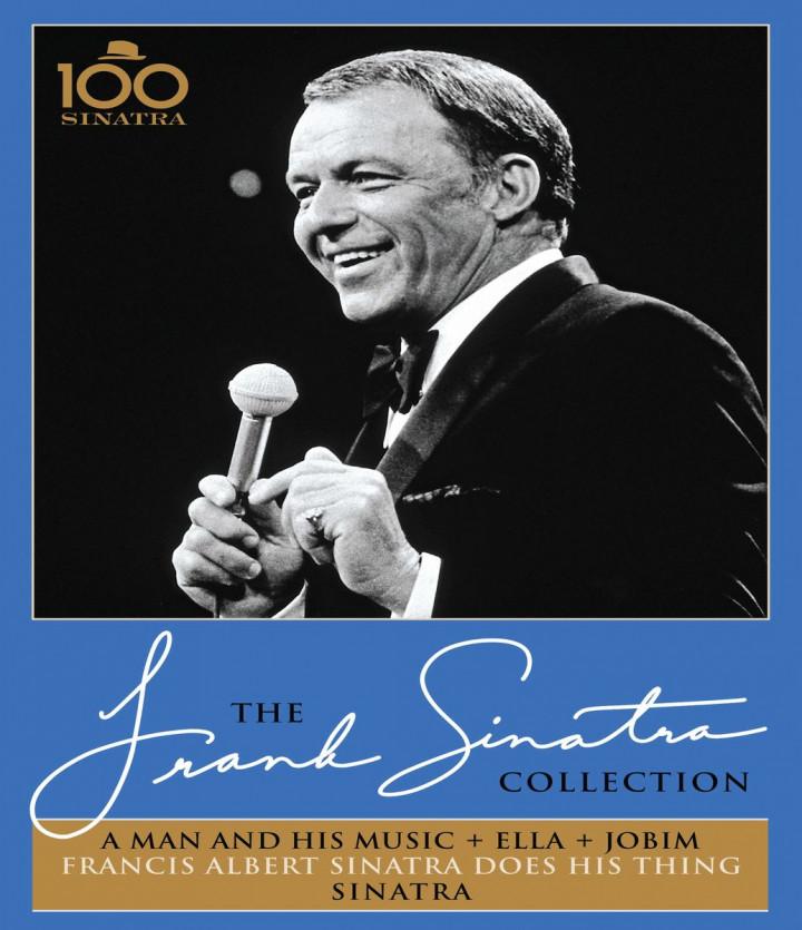 A Man And His Music + Ella + Jobim - Francis Albert Sinatra Does His Thing - Sinatra