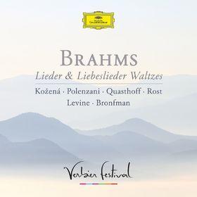 Magdalena Kozena, Brahms: Lieder & Liebeslieder Waltzes, 00028947960447