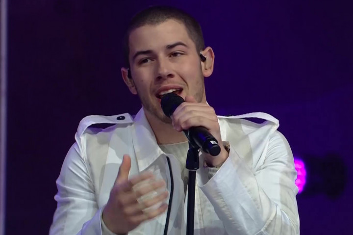 Nick Jonas - Germanys Next Topmodel Finale 2016