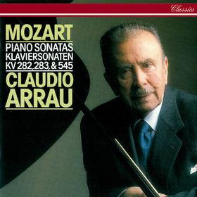 Claudio Arrau, Mozart: Piano Sonatas Nos. 4, 5 & 16, 00028948305193