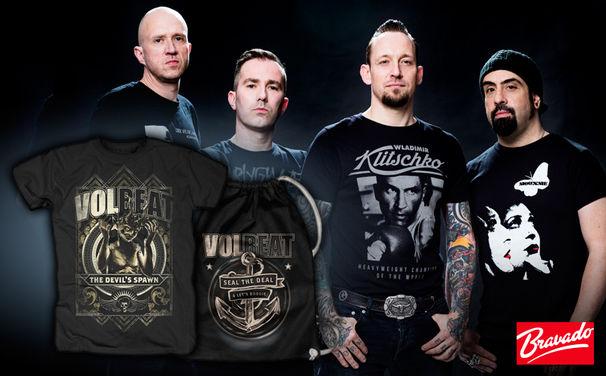 Volbeat, Volbeat als Headliner bei Rock am Ring: Wir verlosen Festival-Fan Packages von Bravado