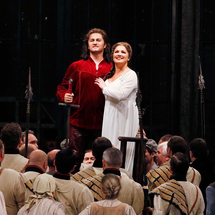 Anna Netrebko, Piotr Beczala, Sächsischer Staatsopernchor Dresden