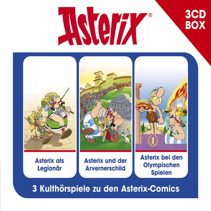 Asterix - Hörspielbox, Vol. 4