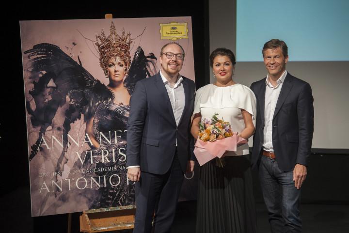 Clemens Trautmann, Anna Netrebko, Frank Briegmann