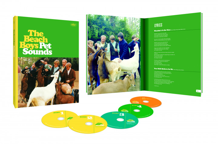 Pet Sounds (Ltd 50th Anniversary Edt Boxset)