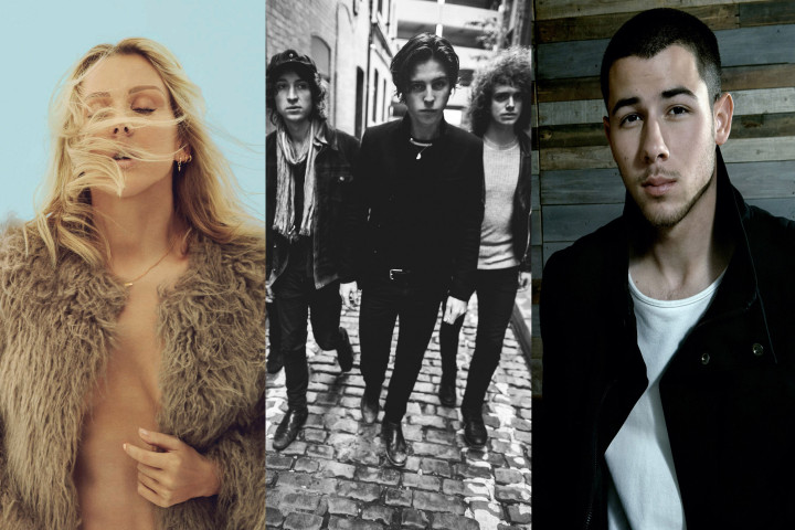 Ellie Goulding, Catfish, Nick JOnas BBC Radio 1 Big Weekend Collage