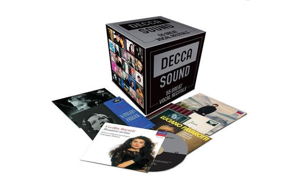 Diverse Künstler, 55 Stimmwunder: Die neue Box-Edition der Reihe The Decca Sound präsentiert 55 Great Vocal Recitals