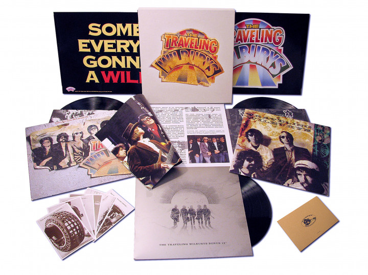 The Traveling Wolburys - Ltd. 3-LP Boxset