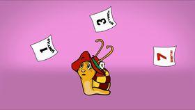 Die kleine Schnecke Monika Häuschen, Wochentage