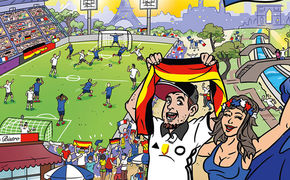 FETENHITS, Fetenhits Fussball EM 2016 ab heute erhältlich
