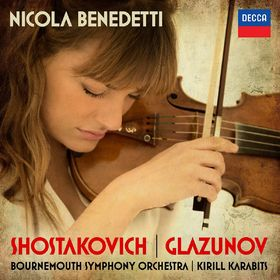 Nicola Benedetti, Shostakovich: Violin Concerto No.1; Glazunov: Violin Concerto, 00028947887584