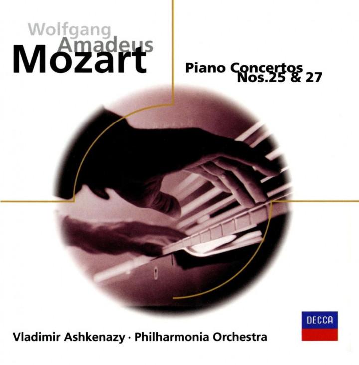 Vladimir Ashkenazy: Mozart:Piano Concertos 25/27