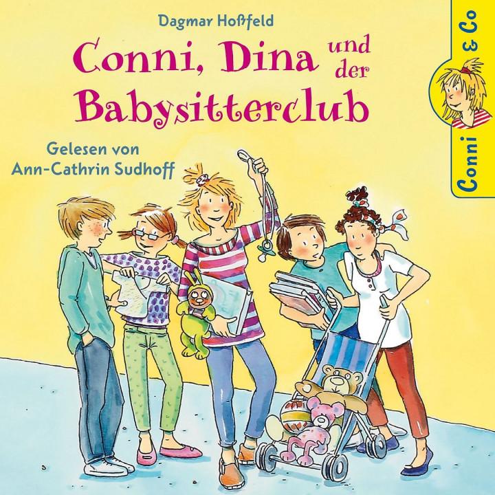 Dagmar Hoßfeld: Conni, Dina und der Babysitterclub