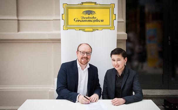 Diverse Künstler, Unter Vertrag: Deutsche Grammophon verpflichtet Junggeiger Daniel Lozakovich