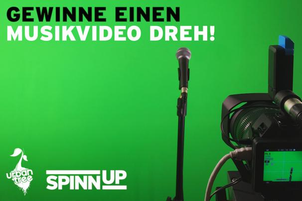 Spinnup, Gewinnt mit Spinnup Germany und Urban Tree Media euren eigenen professionellen Musikvideo Dreh