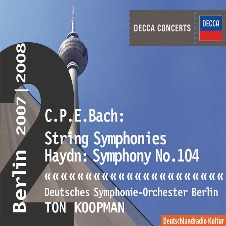 Haydn: Symphony No.104 / C.P.E.Bach: Symphonies