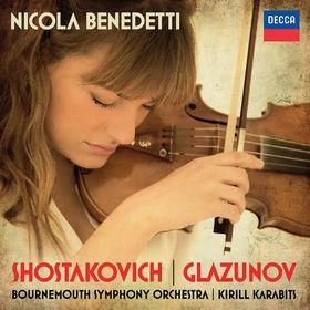 Nicola Benedetti, Shostakovich: Violin Concerto No.1; Glazunov: Violin Concerto, 00028947887607