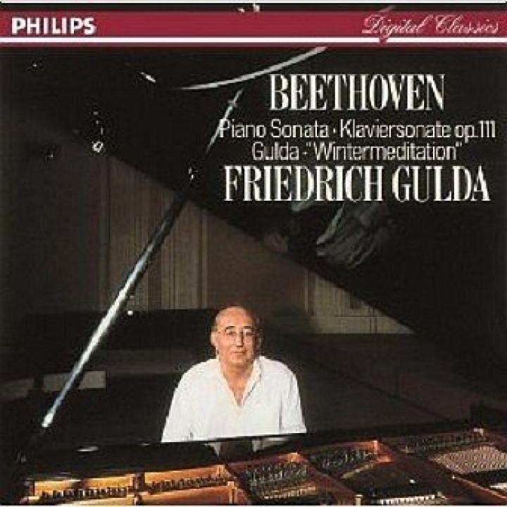 Beethoven: Piano Sonata Op.111 / Gulda: Wintermeditation