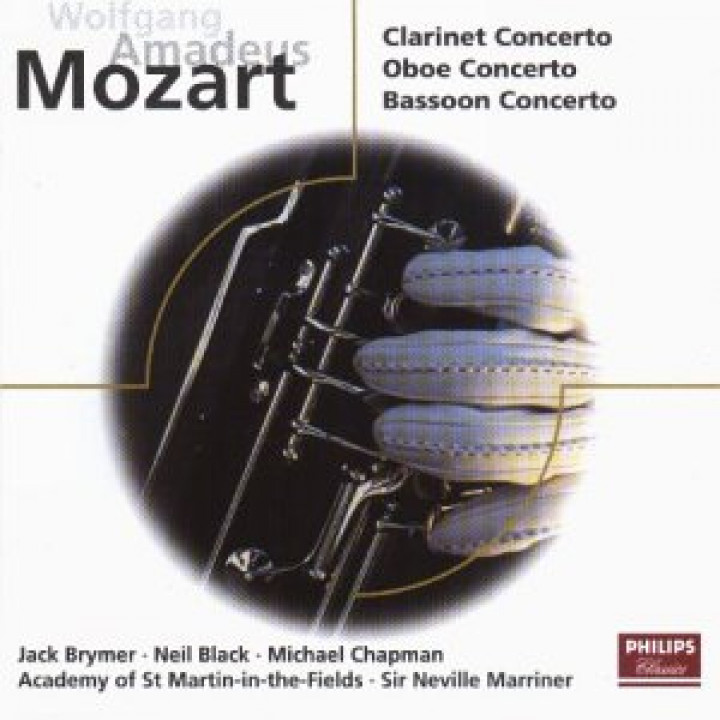 Mozart: Concertos for Clarinet, Oboe & Bassoon