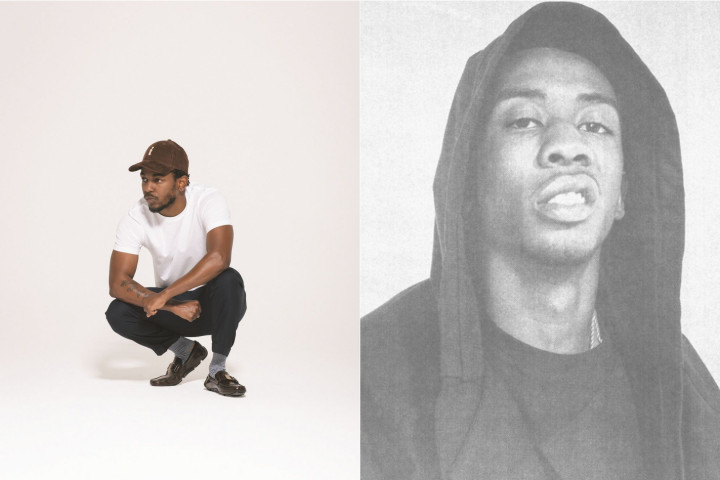 Kendrick Lamar Desiigner Collage