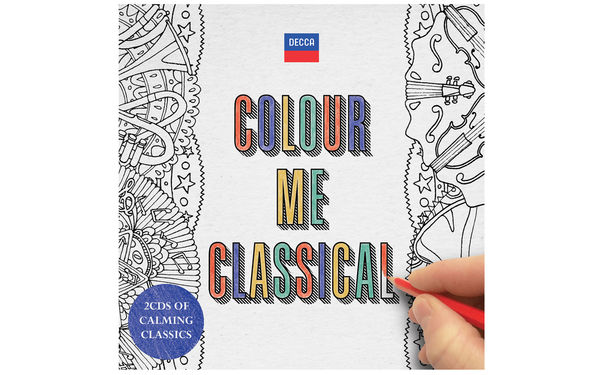 Diverse Künstler, Farbenfroh - Das Album Colour Me Classical schenkt Erwachsenen kreative Inspiration